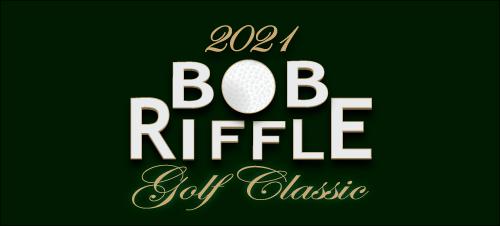 2021 Bob Riffle Golf Classic Logo Banner